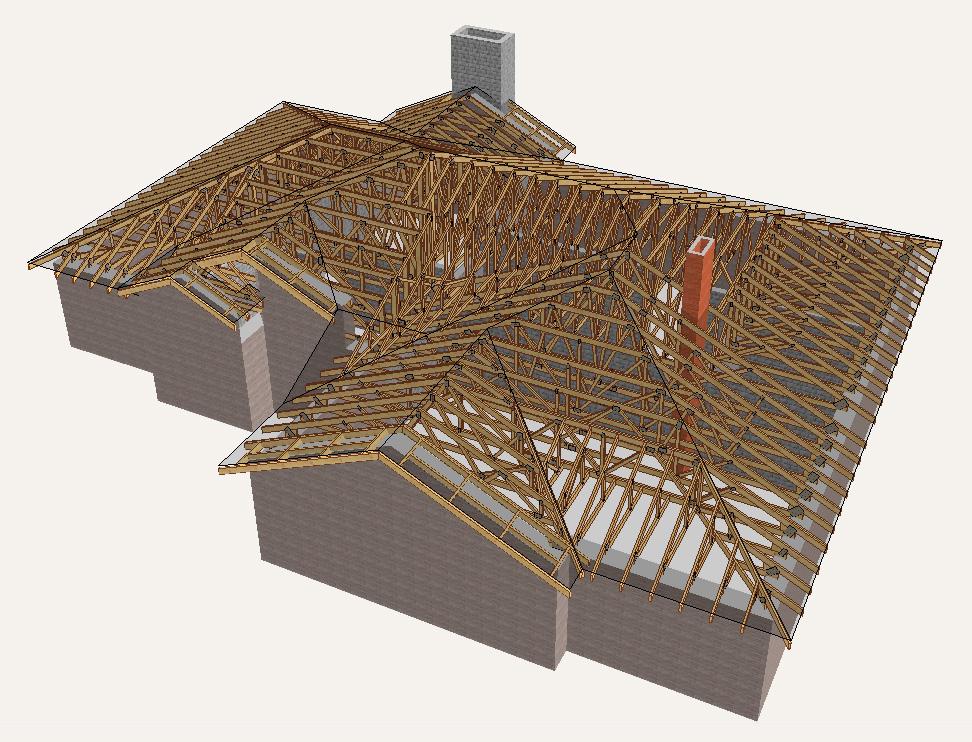 stogo santvaros, stogo konstrukcijos